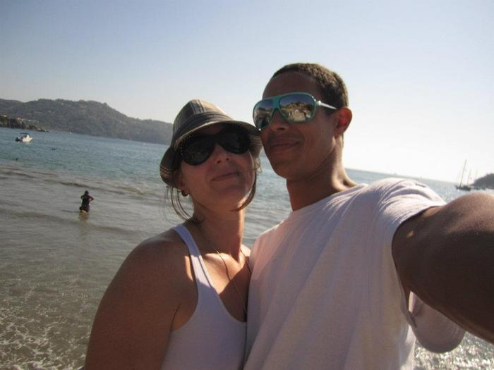 Liz and Jahsiah, Mexico, 2011