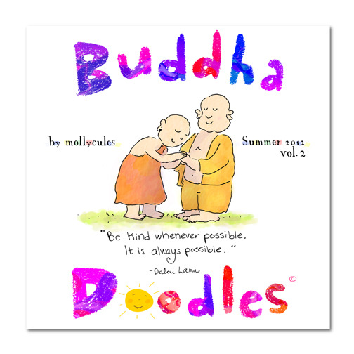 Buddha Doodles Vol. 2 (75 pages)