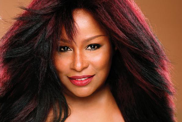 Chaka Khan: 10-time Grammy Award winning American singer-songwriter