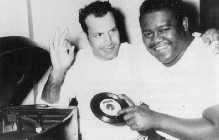 Jimmy & Fats making a record