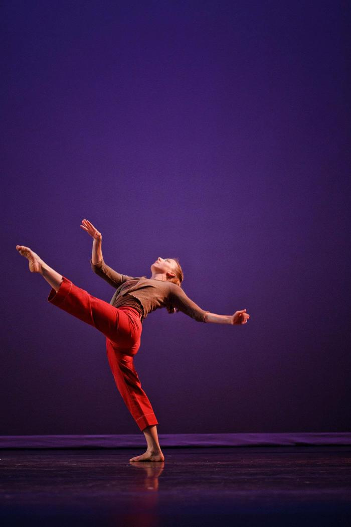 "Kristen Daley in ""Convergence"" - Choreography by: Mercy Sidbury"