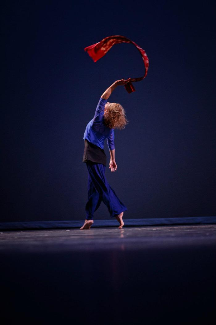 "Mira-Lisa Katz in ""Passing Along"" - Choreography by: Nancy Lyons"