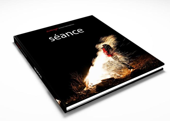 """Seance"" book cover concept design"