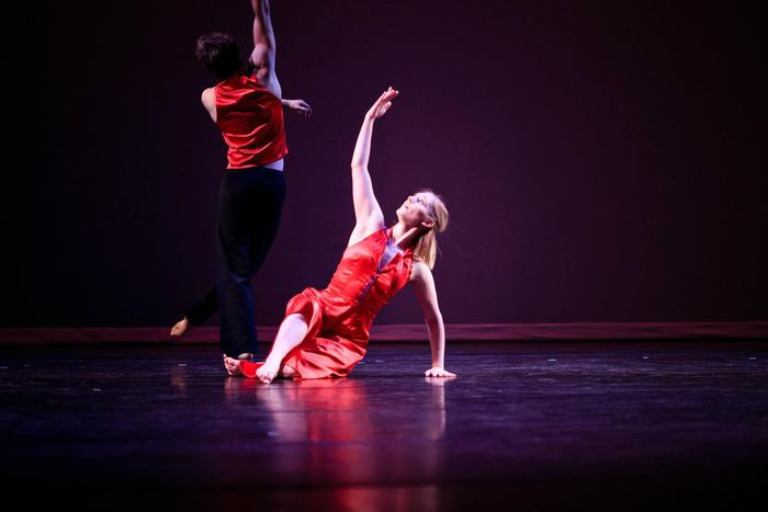 "Aimee Otterson and Jared Wiltse in ""see you in June..."" - Choreography by Kristen Daley"