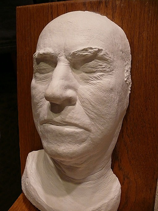 Thomas Edison's death mask