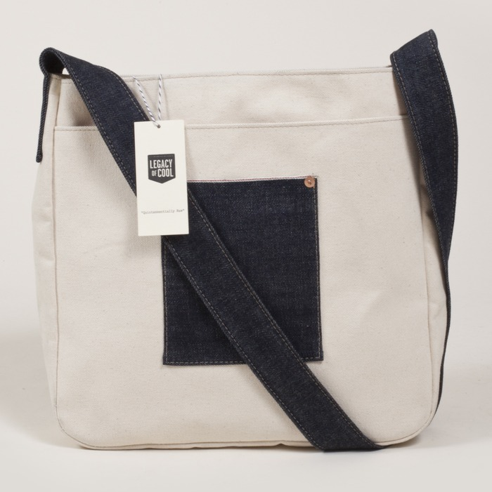 Canvas/Denim TOTE BAG $55 Pledge