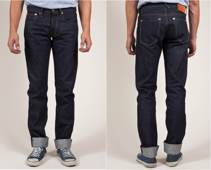 LOC Denim Front & Back -