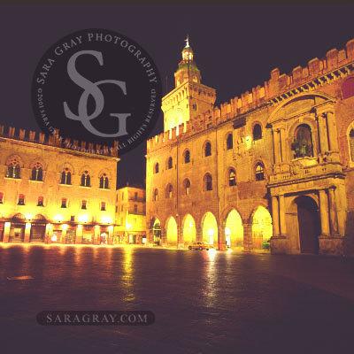 Piazza Maggiore  Bologna Emilia-Romagna, Itlay