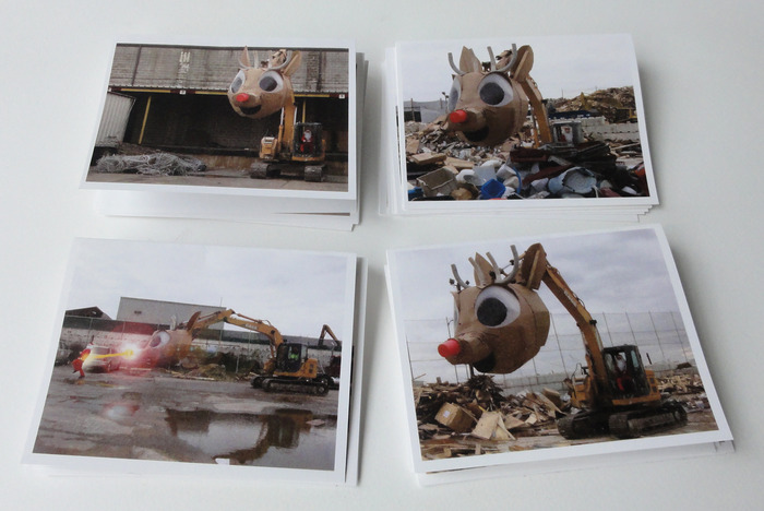 Rudolph Holiday Card Set