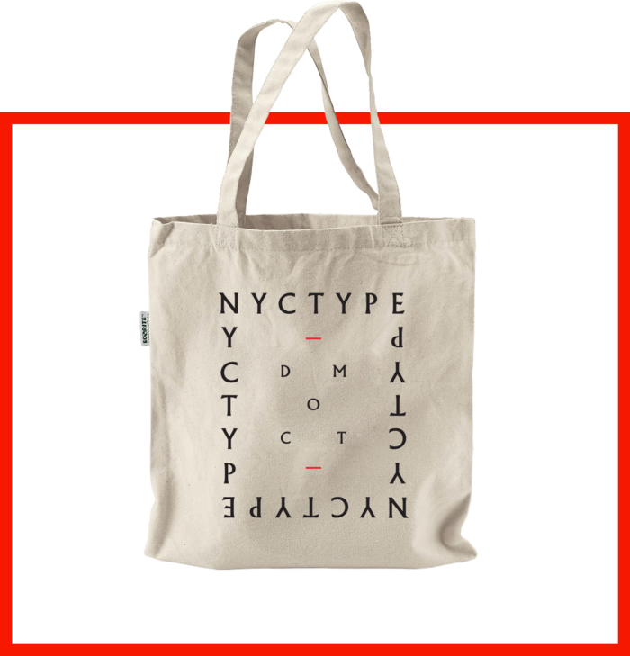 The tote: available at the $40 level (as a standalone reward) and bundled with the $150 & $200 rewards.