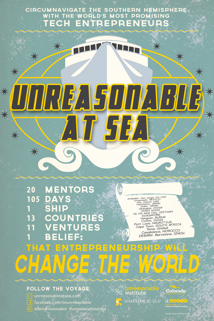 The Official Unreasonable At Sea Documentary Poster