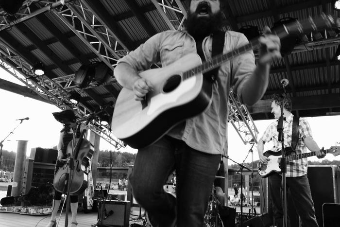 Rockin' out with The David Mayfield Parade! Photo by Sean Beck