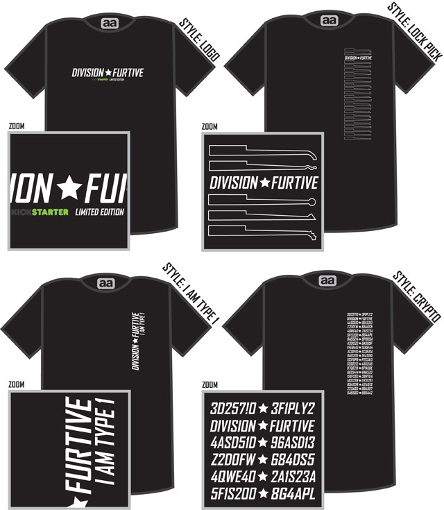 Division Furtive T-Shirt Styles