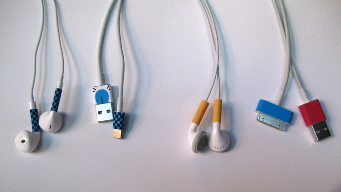 Connector and Earphone cords including iPhone 5