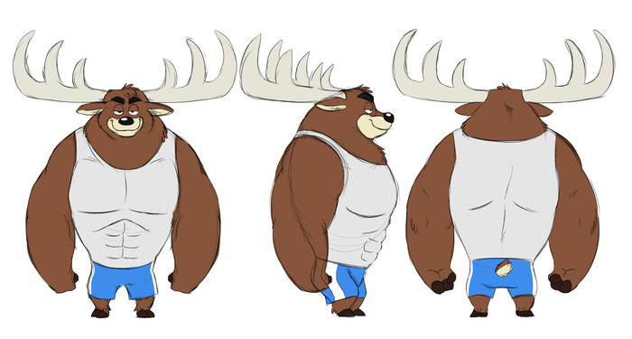Buck is an alpha male deer who insists on making Hershel's life miserable and difficult.