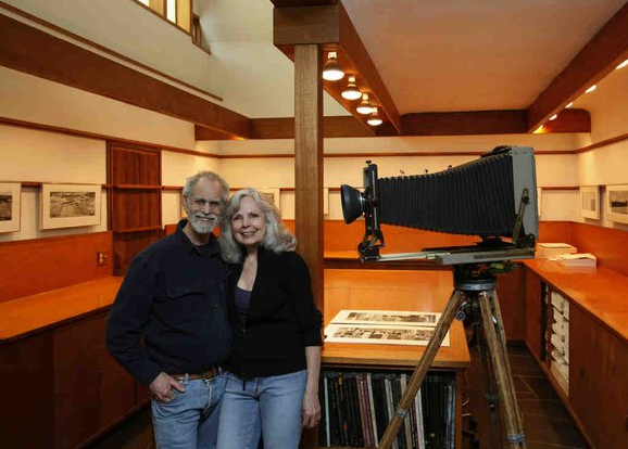 Michael and Paula today in their studio home