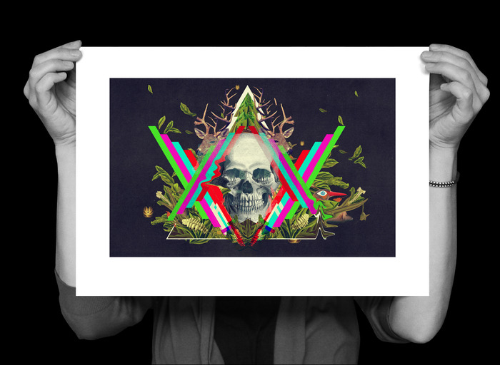 An illustration as an A3 (420x297) print, signed & numbered (also available mounted and framed)