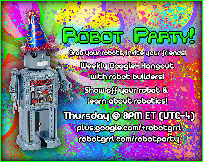 Robot Party -- you're invited!