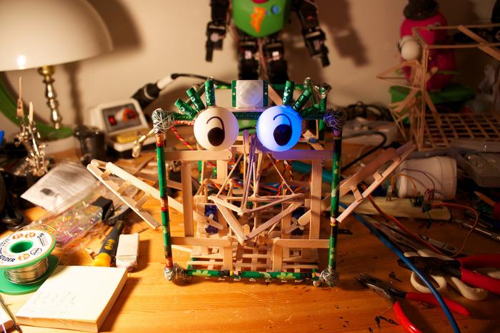 Original RoboBrrd, March 2011