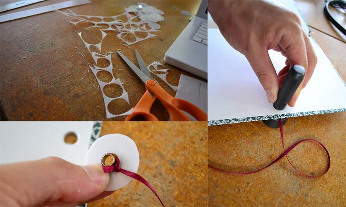 Assembling a prototype.
