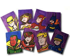(Here's some examples of what to expect for sketch cards.)
