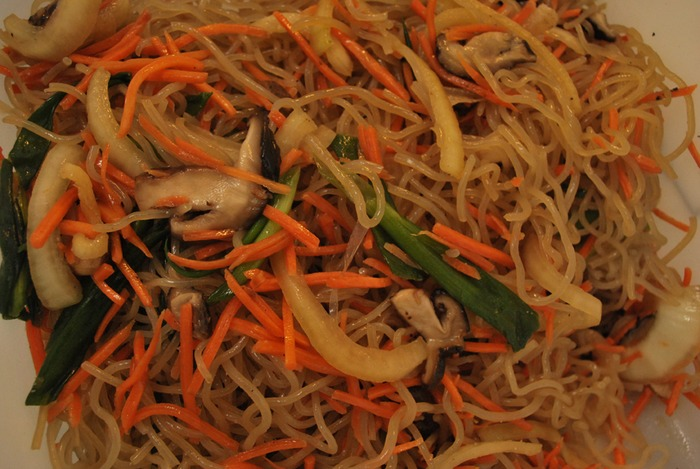 Our Vegan Jhap Chae