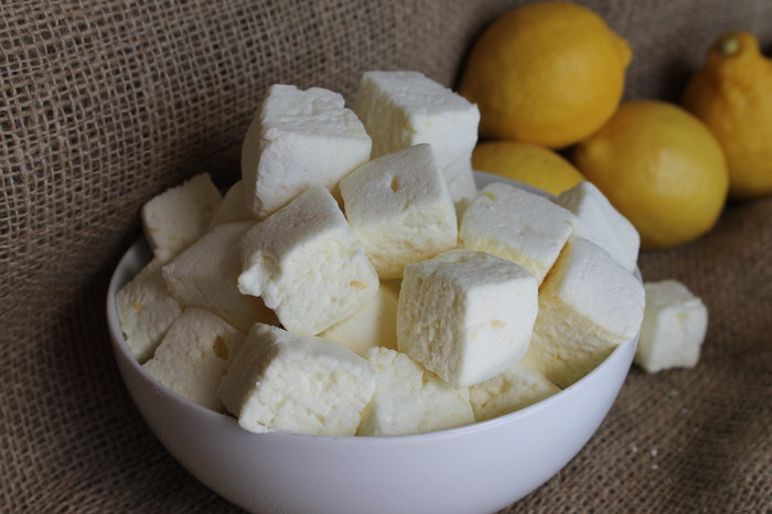 """Lemonage à Trois"" - a sinfully tart threesome of fresh-squeezed lemon juice, lemon zest, and Limoncello liqueur. Oh, my my."