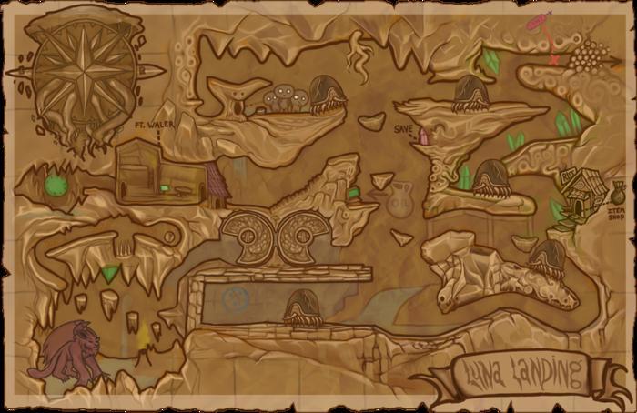 Episode 1 World Map