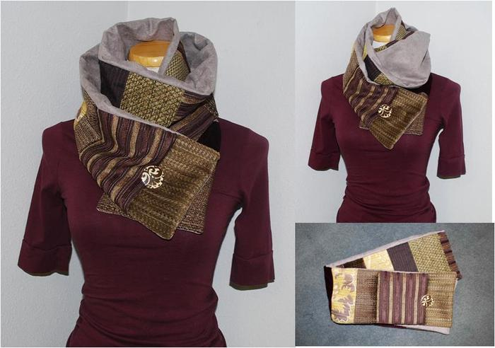 The Long Patchwork Scarf.......for Women
