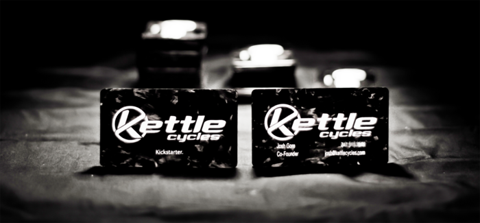 Get a run of custom carbon fiber business cards!