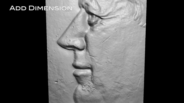 Make high resolution 3D surface scans. Click to go to 3D viewer.