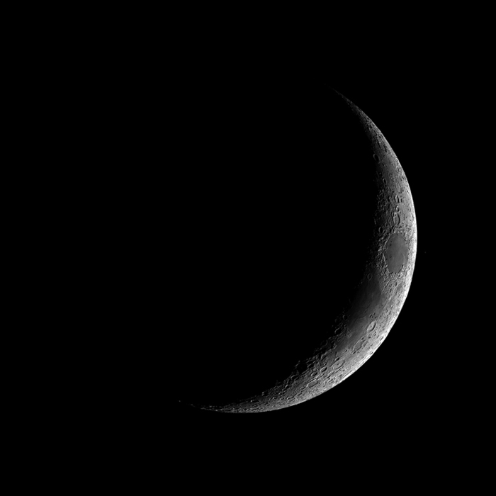 "Source photo for ""Crescent Moon"" drawing"