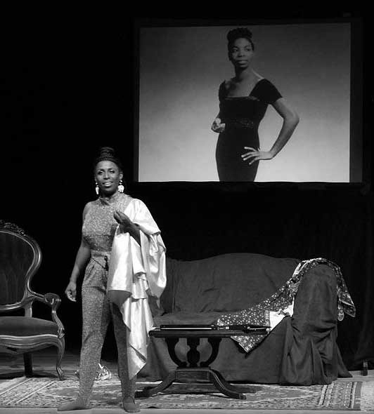Yolanda Rabun as Nina Simone (Photo: { Maritza } Photography)