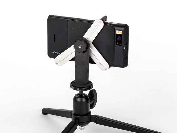 Android with all aluminum version of Tripod Mount