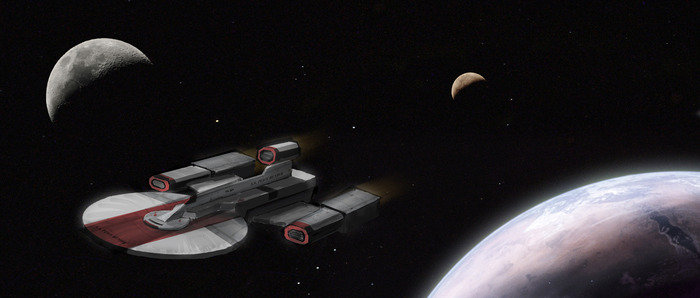 Early Space Patrol Concept Art