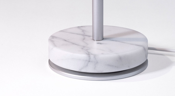 Carrara Marble Base