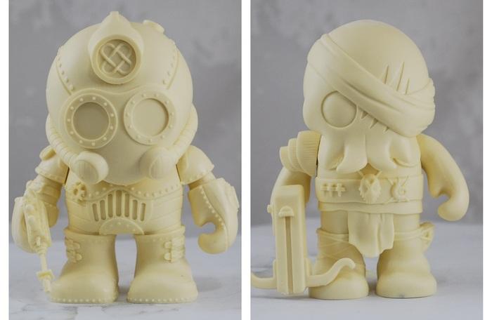 Steampunk Vinyl Designer Toys