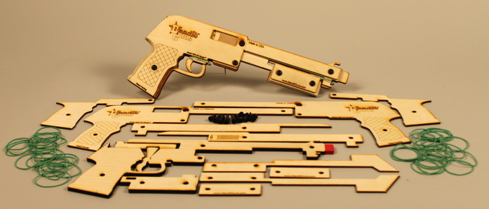 """The Sheriff"" Laser Cut Parts"