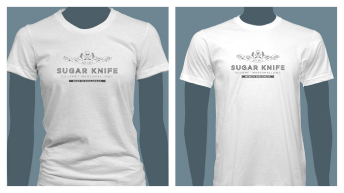 American Apparel T-Shirt in Men's and Women's fit.  Made in America!