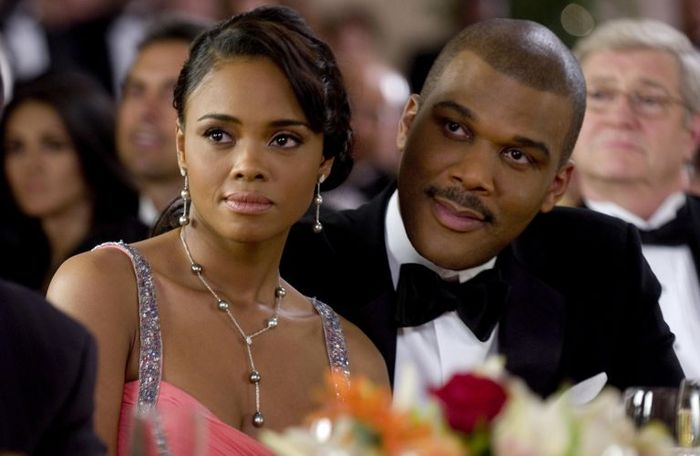 "Sharon Leal & Tyler Perry in ""Why Did I Get Married"""