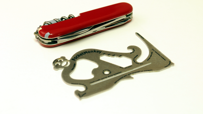 Pocket knives are so 1999. Get a PocketMonkey!