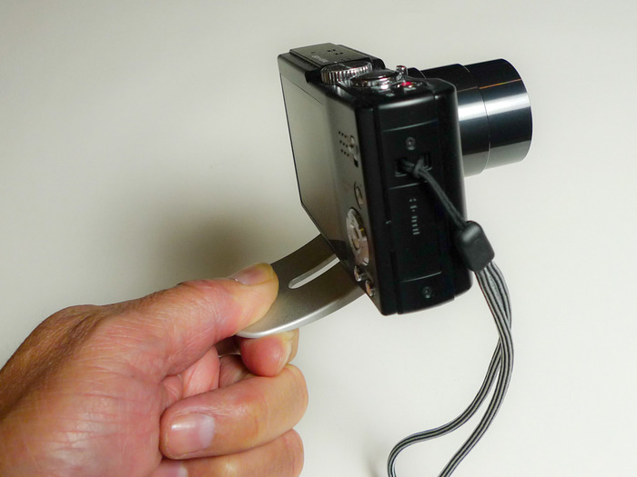 Use Pocket Tripod to stabilize your camera for videos or pictures