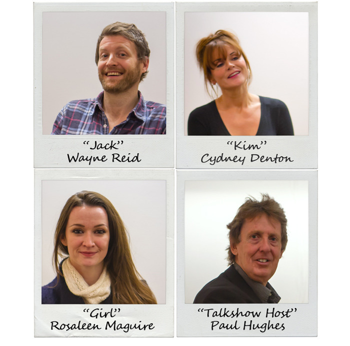 Full cast: Wayne Reid, Cydney Denton, Rosaleen Maguire and Paul Hughes