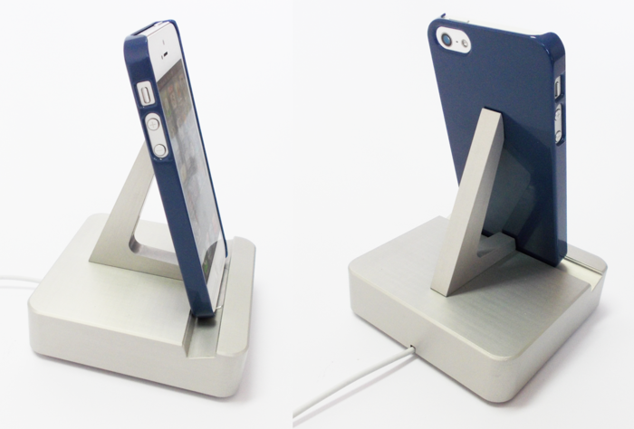 CompleteDock fits iPhone5 with case