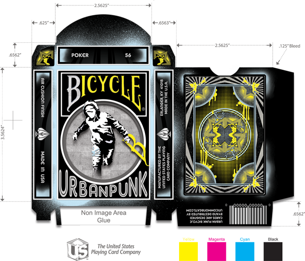 Urban Punk Tuck Box Design