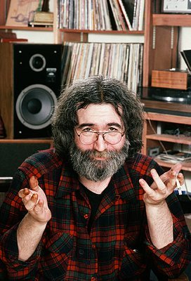 1982 Jerry at home (photo courtesy of Corbis Images)