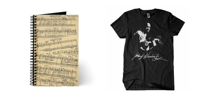 "Johnny ""Hammond"" Smith Music Journal and Exclusive Kickstarter T-Shirt"