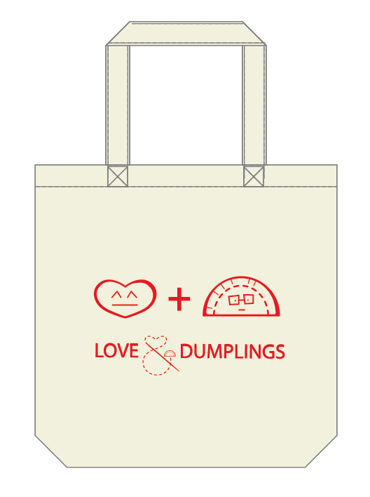 This is what our tote bags would look like!