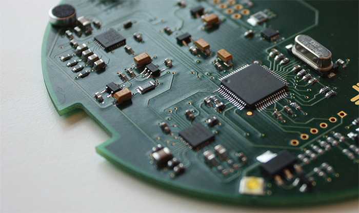We already have a custom made fully functional real size PCB ready with embedded software.