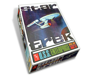 Rare Enterprise AMT Model Kit Commerative Edition New $40